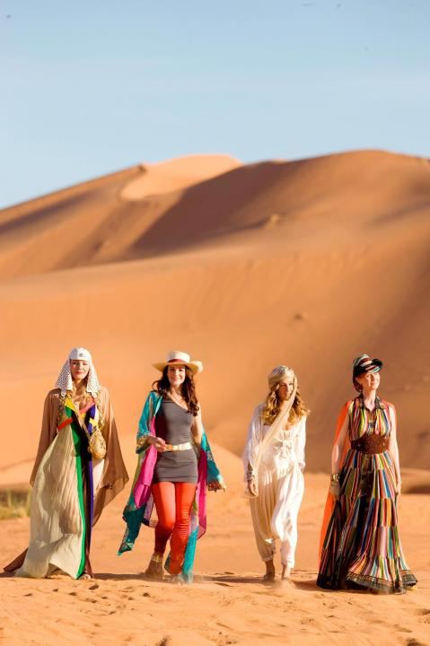 The girls hit Abu Dhabi in Sex and the City 2.