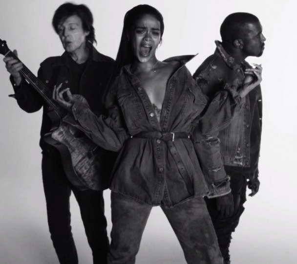 Rihanna-FourFiveSeconds-video