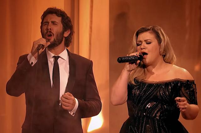 Az Operaház Fantomja musicalből énekelt duettet Josh Groban és Kelly Clarkson. Mindenkit elvarázsoltak!