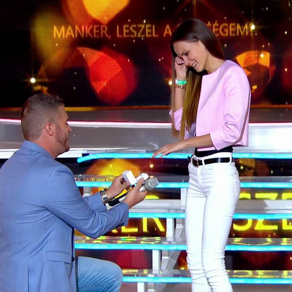 A Nagy Duettben kérte meg Kasza Tibi barátnője kezét