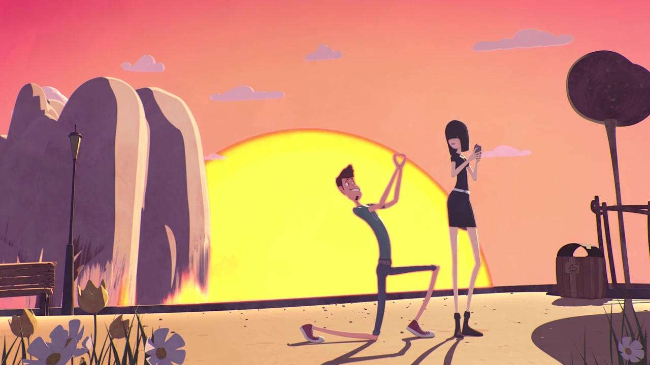 Egy egyszerű kis rajzfilm, aminek azonban hatalmas érzelmi impaktja van