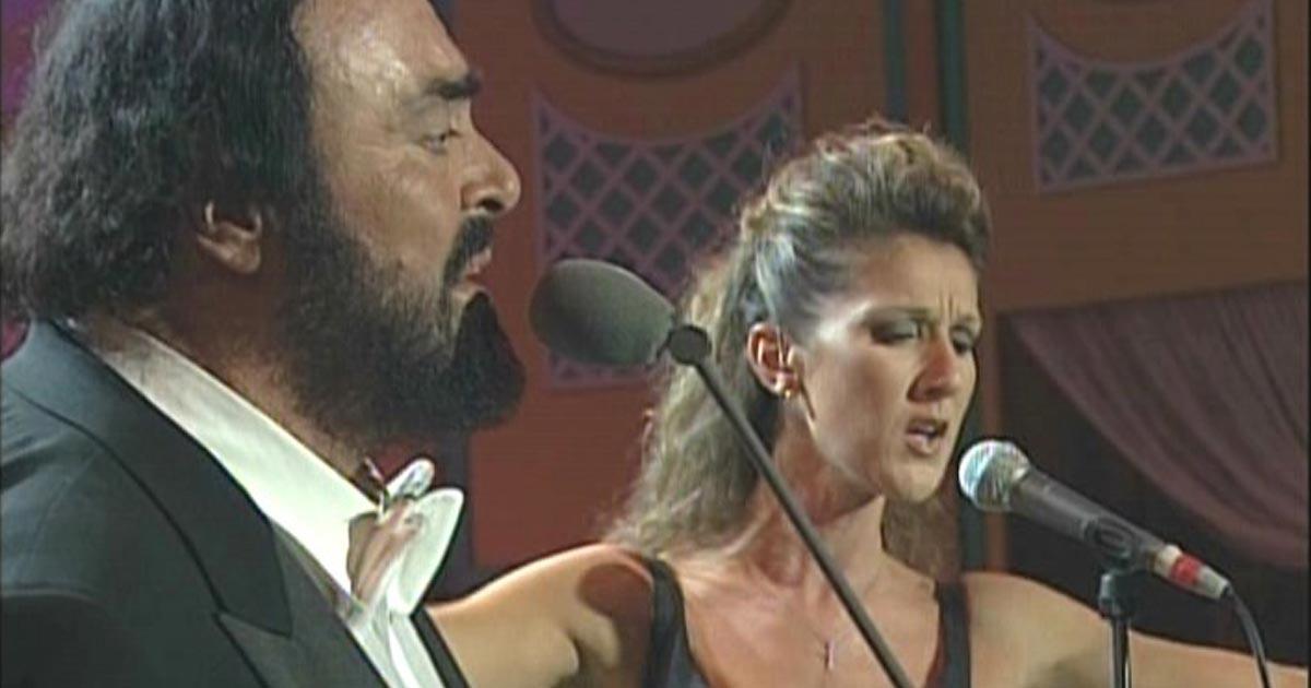 Céline Dion és Luciano Pavarotti duettje a legizgalmasabb, amit manapság hallhat az ember!