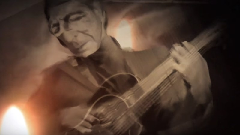 Posztumusz videópremier: Leonard Cohen - Leaving The Table