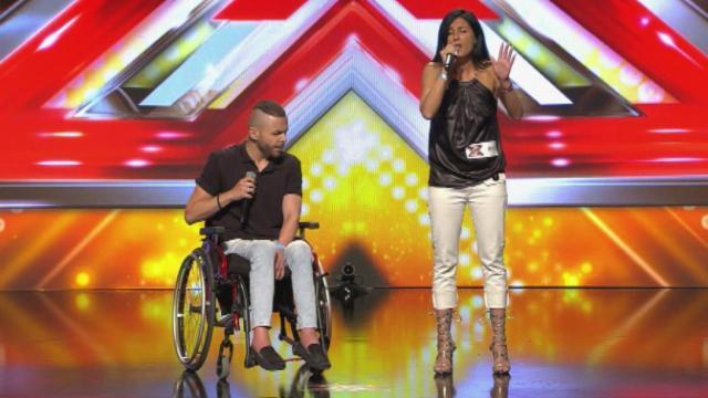 Tolószékes énekes tarolt az X-Faktorban