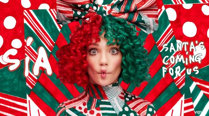 Megérkezett SIA első karácsonyi dala. Íme a Santa's Coming For Us!