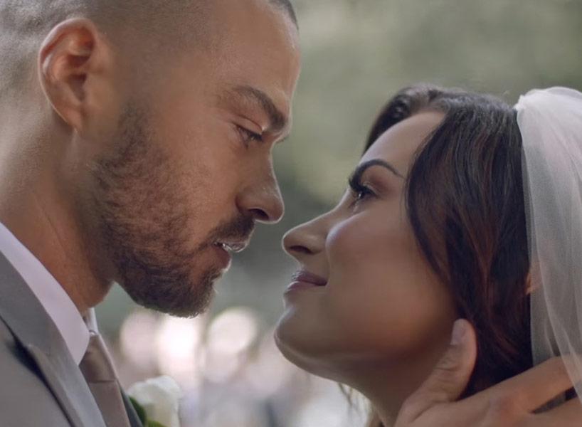 Jesse Williams és Demi Lovato összeházasodik! Íme az álomesküvő az énekesnő új klipjében