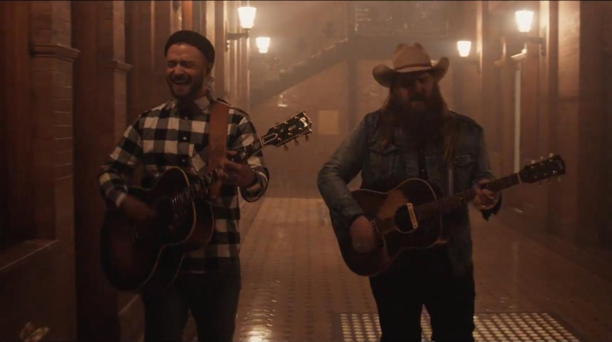 Videóklip: Justin Timberlake feat. Chris Stapleton - Say Something