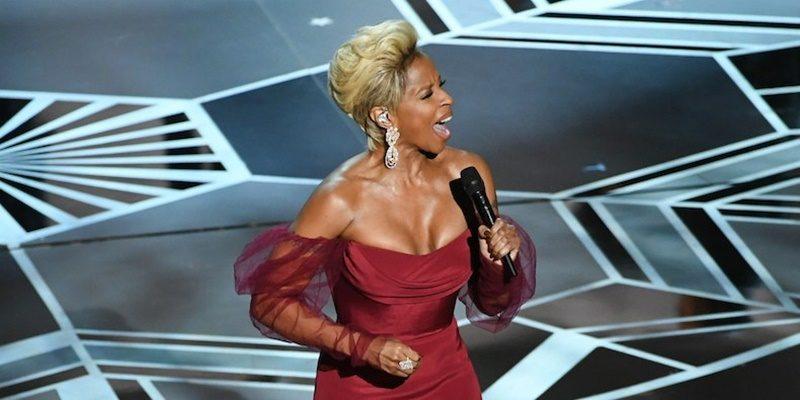 Csodálatos élő produkcióval szórakoztatta az Oscar-gála közönségét Mary J. Blige
