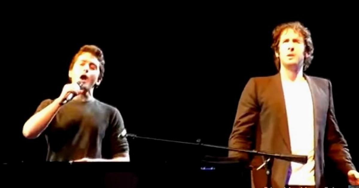 Josh Groban átadja a mikrofont egy fiúnak a közönségből, de neki is elkerekedik a szeme, amikor a srác énekelni kezd!
