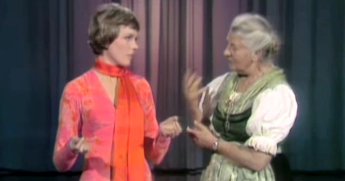 Julie Andrews találkozik az igazi Maria von Trapp-pal. Az összeismerkedésük a legviccesebb dolog, amit mostanában láttál!
