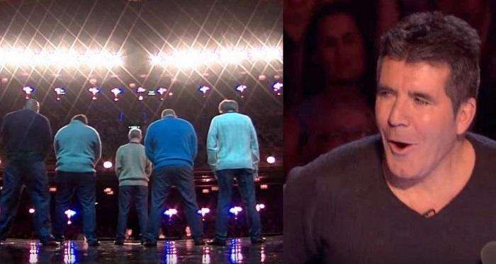 """Simon Cowell szkeptikusan méregette az """"öregeket"""". Pár perccel később már állva tapsolta meg őket!"""