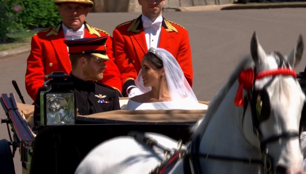 Soha nem történt brit királyi esküvőn, az, ami ma Harry herceg és Meghan Markle menyegzőjén