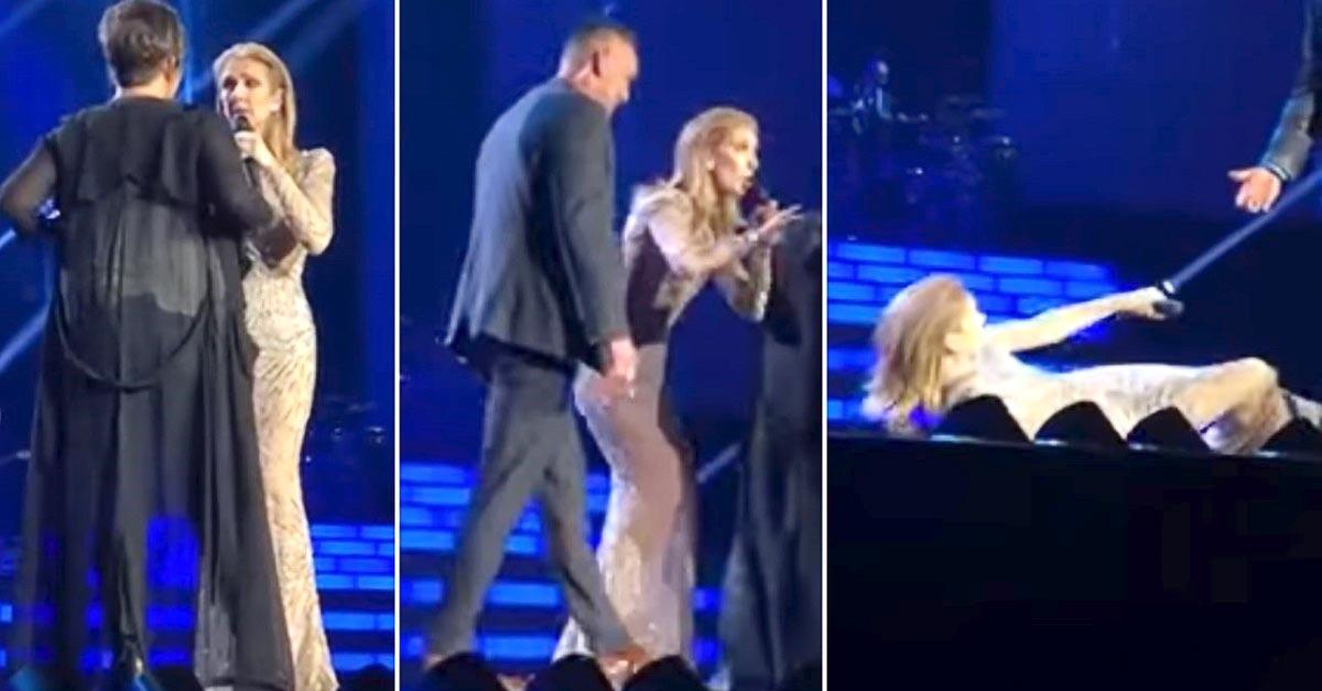 Ittas rajongó támadta le Céline Dion-t egy koncerten - Így reagált az énekesnő