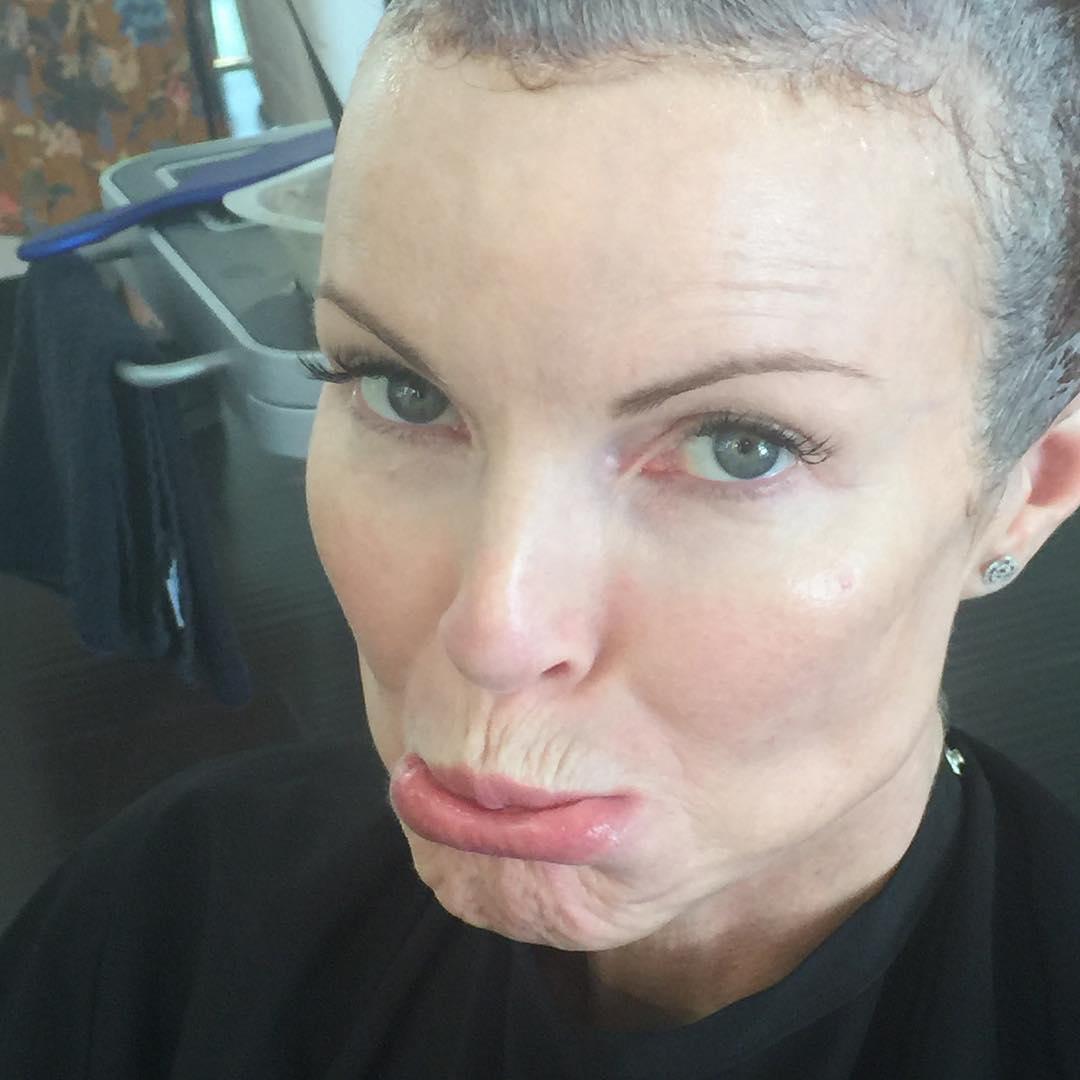 Így néz ki a Született Feleségek színésznője, miután legyőzte a rákot
