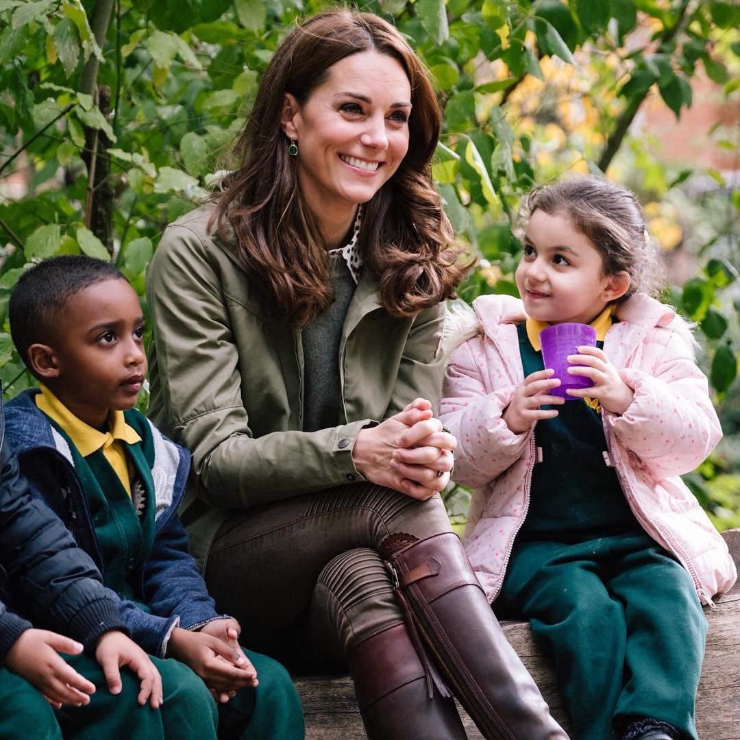 Ezt válaszolta Katalin hercegné, amikor a kislány megkérdezte tőle, miért fotózzák őt folyton