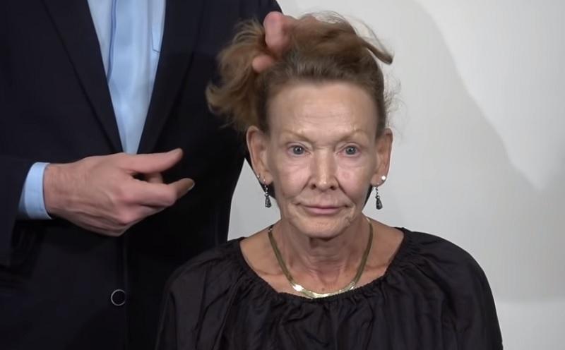 A 69 éves nő megunta élettelen haját, a fodrász igazi dívát faragott belőle