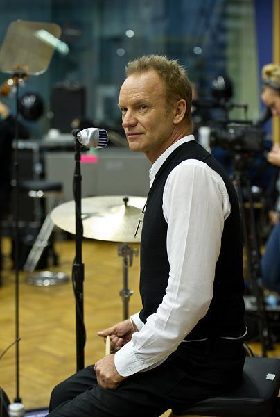 Sting Budapestre is ellátogat