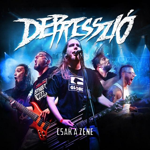 Depresszió - Csak a zene CD borító2