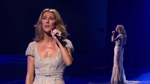 Szívmelengető, ahogy Céline Dion a rock'n'roll királya előtt tiszteleg!