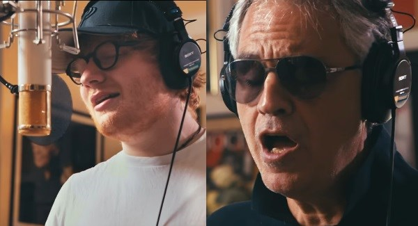 Ed Sheeran nem ismer lehetetlent! Ezúttal Andrea Bocellivel énekel duettet