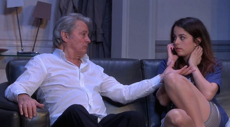 Így néz ki Alain Delon lánya, aki 8 éve ugyan azt a férfit szereti