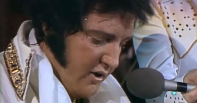 Elvis halála előtt 6 héttel is olyan szenvedéllyel adta elő dalait, mint karrierje kezdetén!